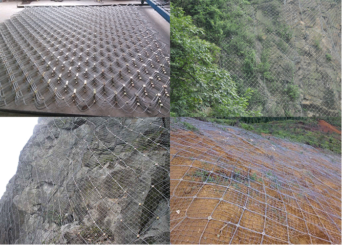 active slope protection net